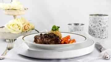 Rezept Steaks in Pfefferrahmsauce