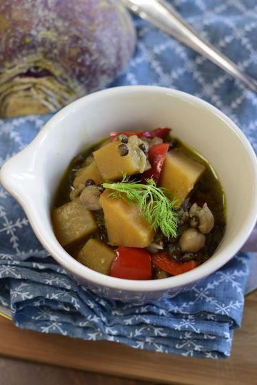 Rezept Steckrüben-Curry