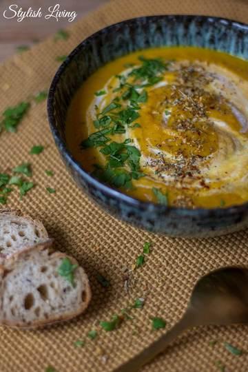 Rezept Steckrüben-Karotten-Suppe mit Ingwer