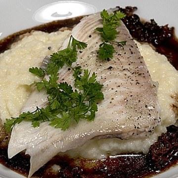 Rezept Steinbutt mit Selleriepüree und Morchelsauce