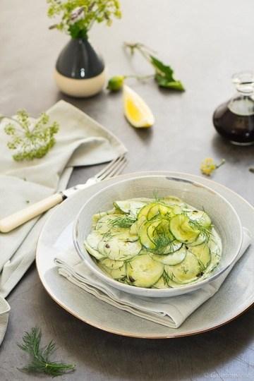Rezept Steirischer Gurkensalat