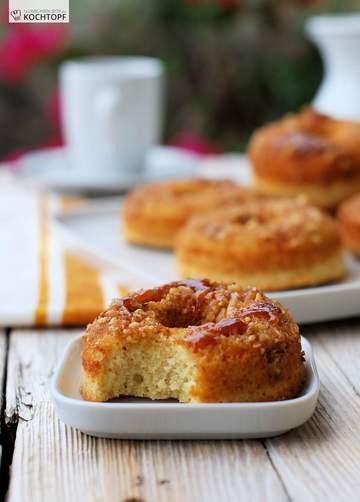 Rezept Sticky Bun Doughnuts