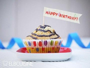 Rezept Stracciatella-Muffins zum Geburtstag – das Rezept für Paul!