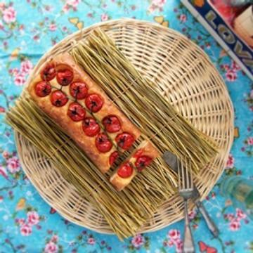 Rezept Strapatsada - Eier mit Tomaten in einer anderen Form