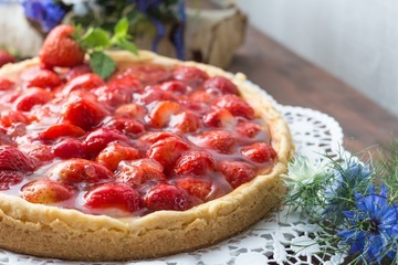 Rezept Strawberry Cheesecake