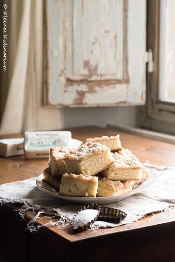 Rezept Streuselkuchen mit Sahneguss