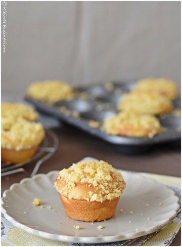 Rezept Streuselkuchenmuffins mit Pudding
