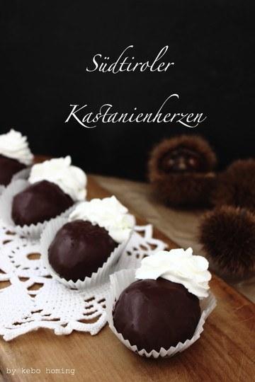 Rezept Südtiroler Kastanienherzen