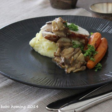 Rezept Sunday Lunch: Truthahnbrust mit Steinpilzsauce...