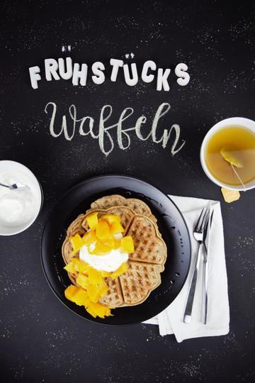 Rezept Superfood Frühstückswaffeln