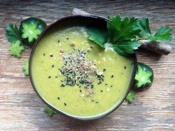 Rezept Suppe mit Zucchini und Süßkartoffel