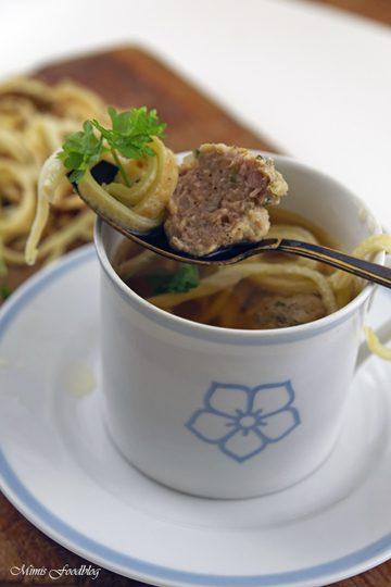 Rezept Suppenklößchen ~ die klassische Suppeneinlage