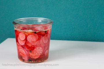 Rezept Süß-sauer eingelegte Radieschen
