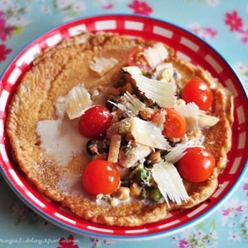 Rezept süße deftige Pfannkuchen