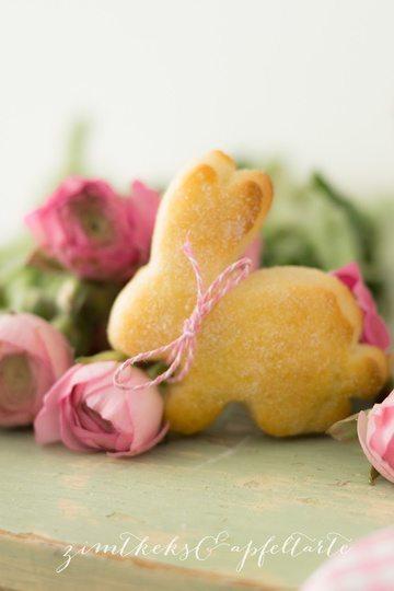 Rezept Süße Hasen aus Quark-Öl-Teig