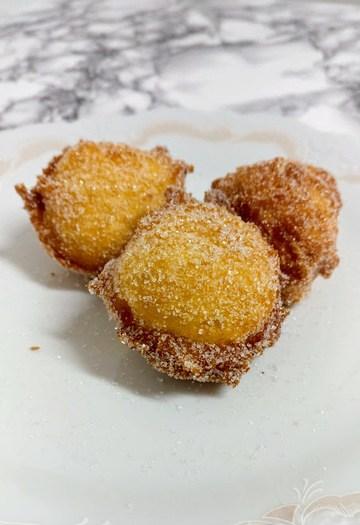 Rezept Süße kleine Quarkbällchen in Zucker – Himmlisch !