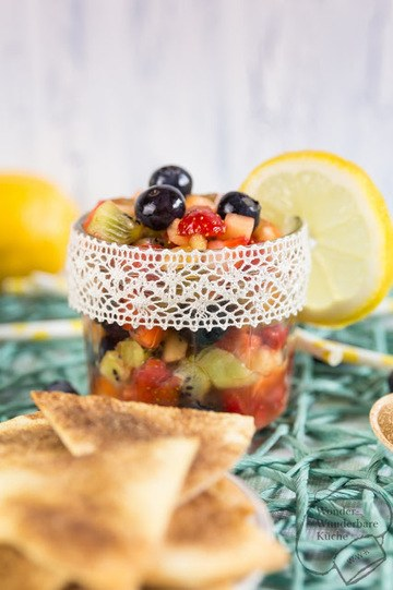 Rezept Süße Nachos mit Obstsalsa