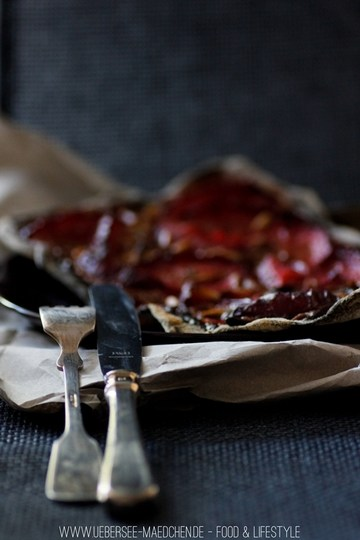 Rezept Süße Schoko-Flammkuchen