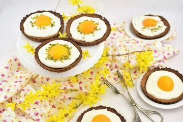 Rezept süsse Spiegeleier Tartelettes