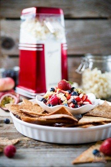 Rezept Süße Tortilla Chips mit Früchtesalsa