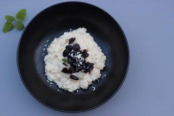 Rezept Süßes Risotto mit Sauerkirsch-Kompott