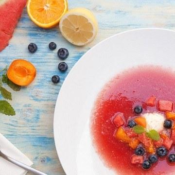 Rezept Süßes Wassermelonen Gazpacho Rezept