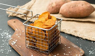 Rezept Süßkartoffel-Chips