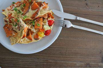 Rezept Süßkartoffel Frittata