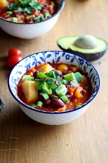 Rezept Süsskartoffel - Gemüse - Chili
