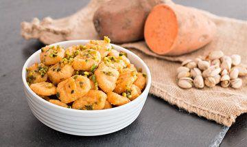 Rezept Süßkartoffel-Gnocchi mit Pistazien