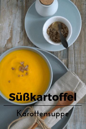 Rezept Süsskartoffel Karottensuppe
