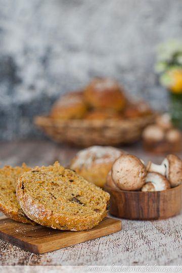 Rezept Süßkartoffel-Pilz-Brötchen
