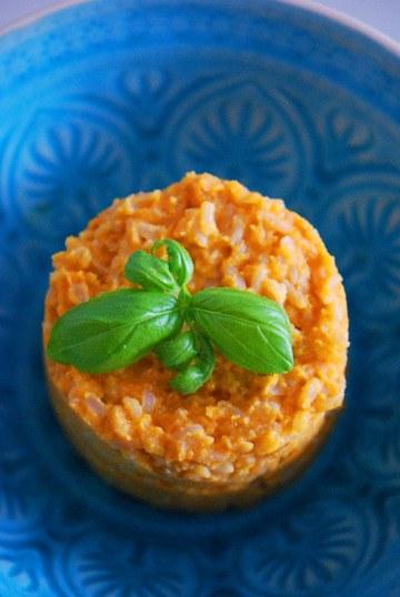 Rezept Süßkartoffel Risotto mit Zimt & Curry