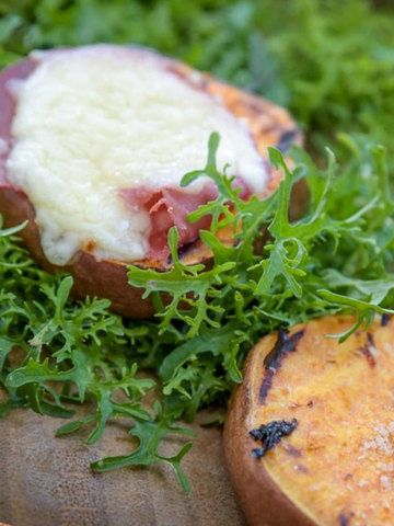 Rezept Süßkartoffeln vom Grill