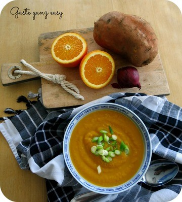 Rezept Süßkartoffelsuppe mit Ingwer und Orange