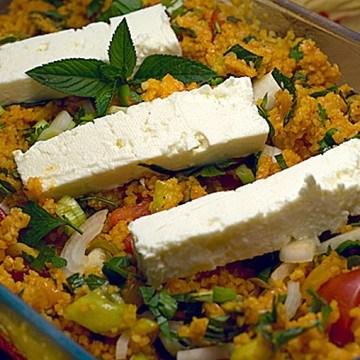 Rezept Tabouleh mit Feta