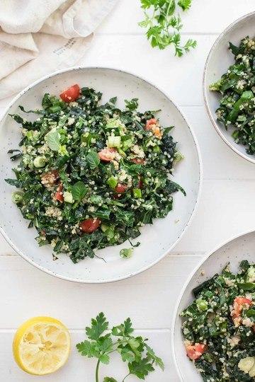 Rezept Tabouleh-Salat mit Schwarzkohl und Quinoa