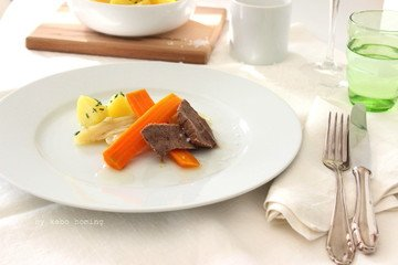 Rezept Tafelspitz mit Salzkartoffeln