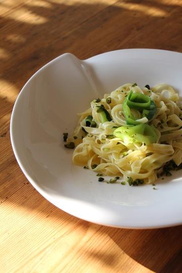 Rezept Tagliatelle mit Zucchini und Pistazien