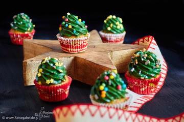 Rezept Tannen Muffins – Chai Muffins mit Tannen Frosting
