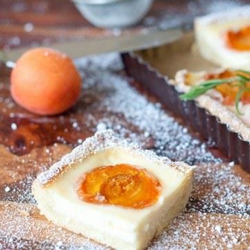 Rezept Tarte abricots-romarin