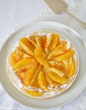 Rezept Tarte Crêpes Suzette