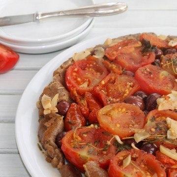 Rezept Tarte Tatin aux tomates