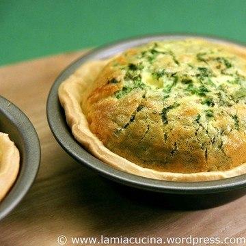 Rezept Tartelettes aux fines herbes et Vacherin fribourgeois