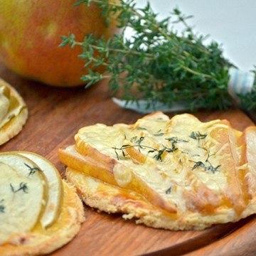 Rezept Tartelettes mit Birne und Comté
