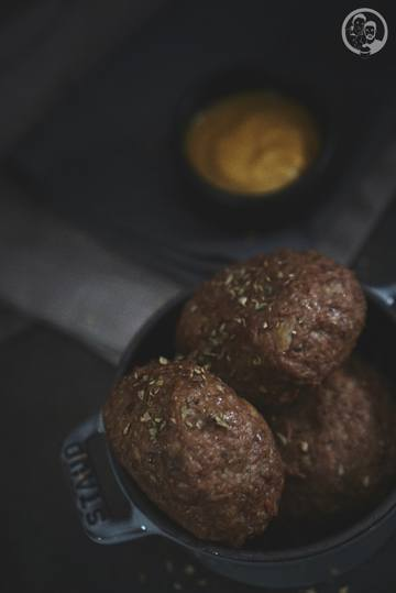 Rezept Tatarfrikadellen mit Feta