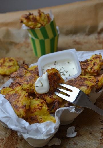 Rezept Tater Tots mit Knoblauch-Zitronen-Dip
