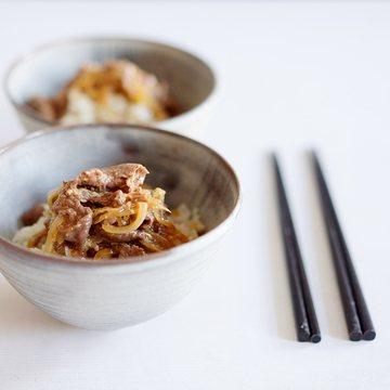 Rezept Teriyaki Gyūdon - Japanische Reisschale mit Rindfleisch