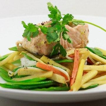 Rezept Teriyaki-Lachs mit Gemüse