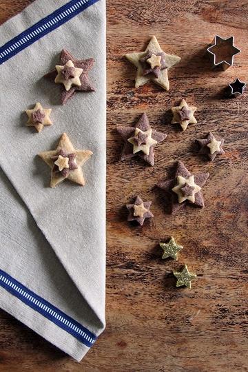 Rezept Terrassenplätzchen mit Weihnachtsgewürzen